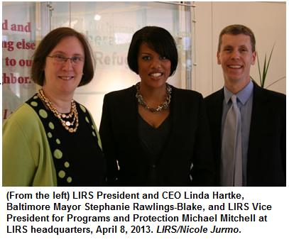 Rawling-Blake, Hartke, Mitchell at LIRS
