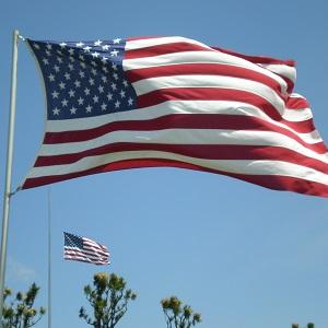 American flag 300
