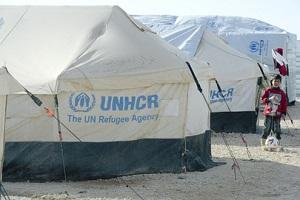UNHCR Syria Refugee Camp