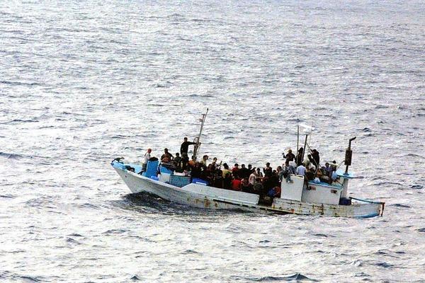 RefugeesBoatSea