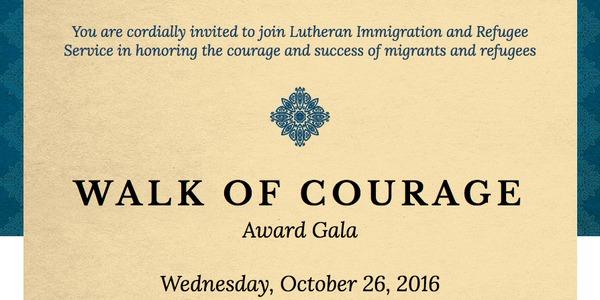 LIRS Walk of Courage Gala