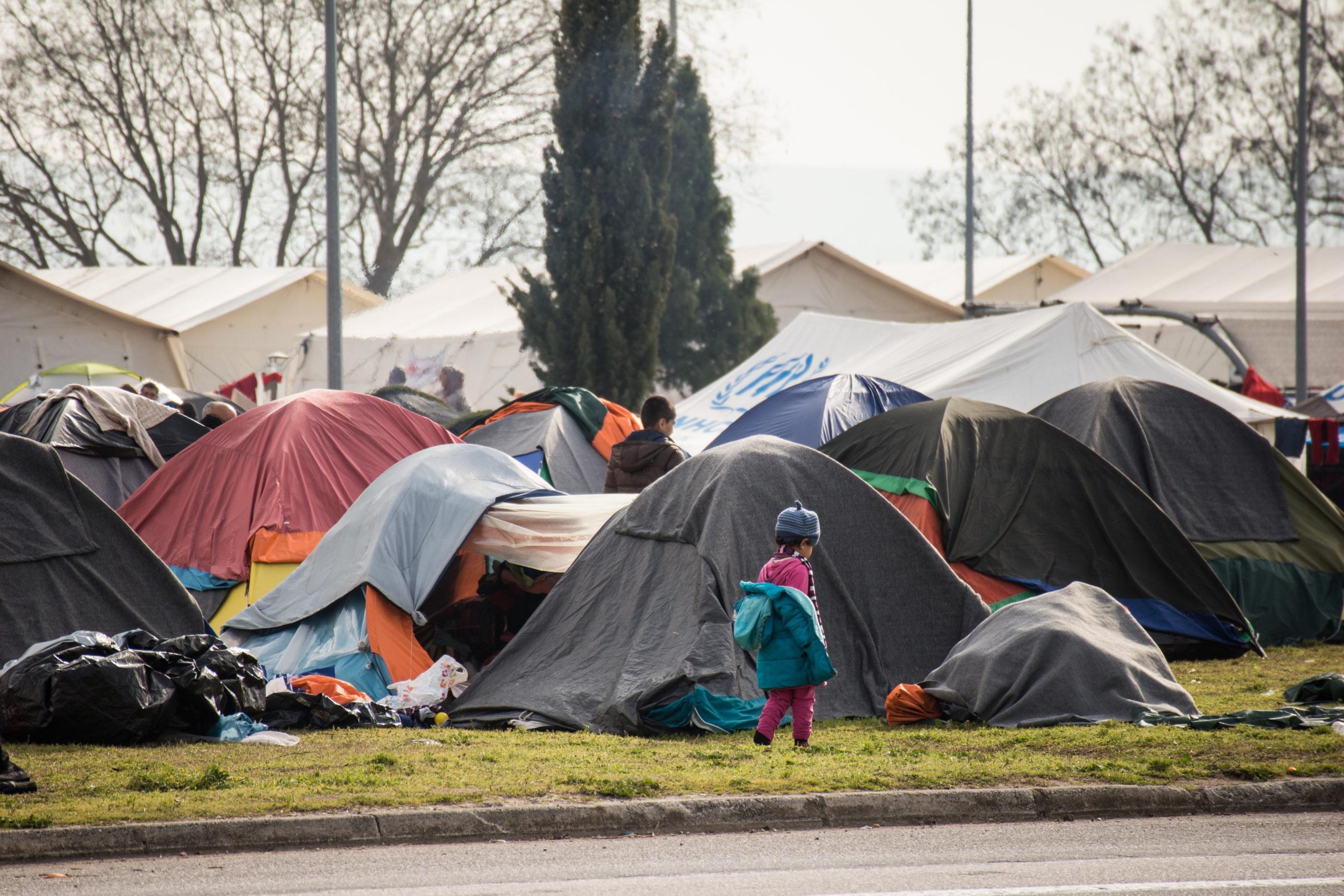 Refugee Camp children