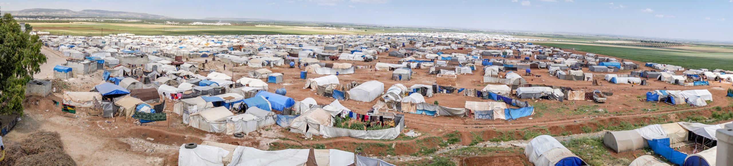 Refugee Camp Header Coronavirus