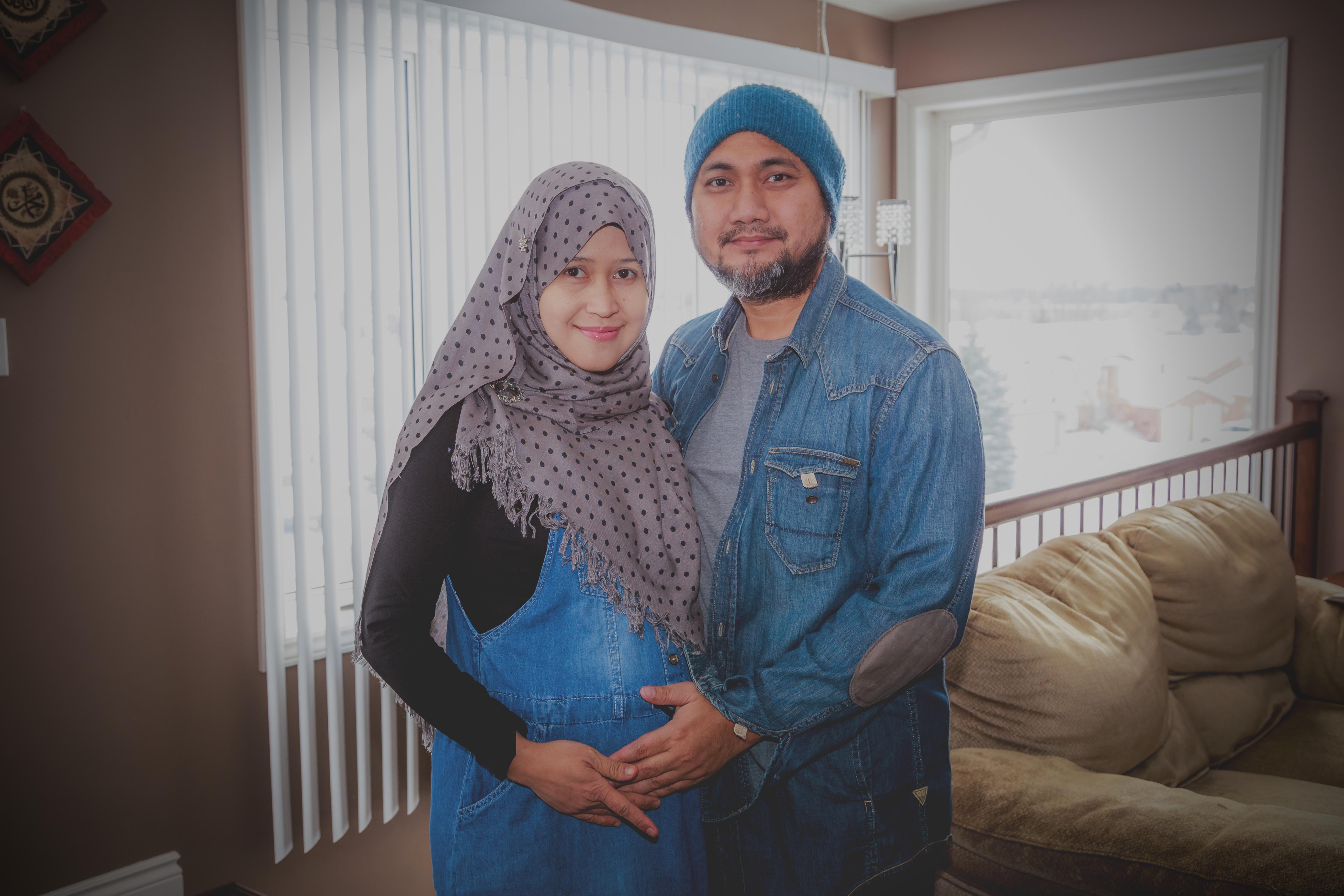 Refugee Couple