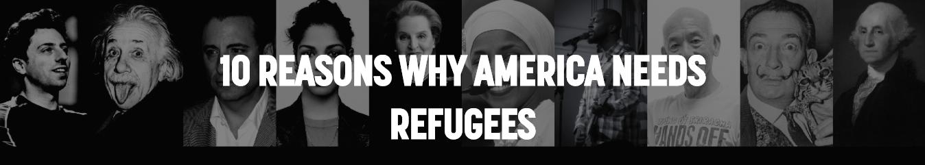 America Needs Refugees