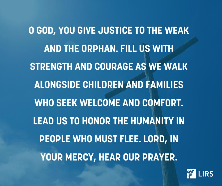 Prayers for refugees 1