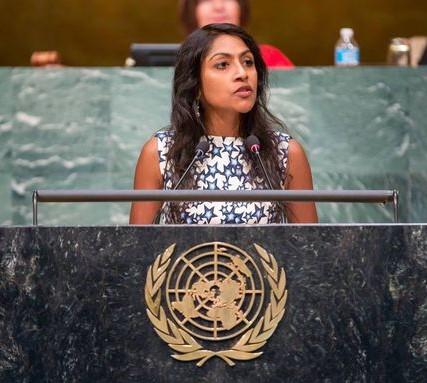 Immigration Advocates Activist Krish O'Mara Vignarajah
