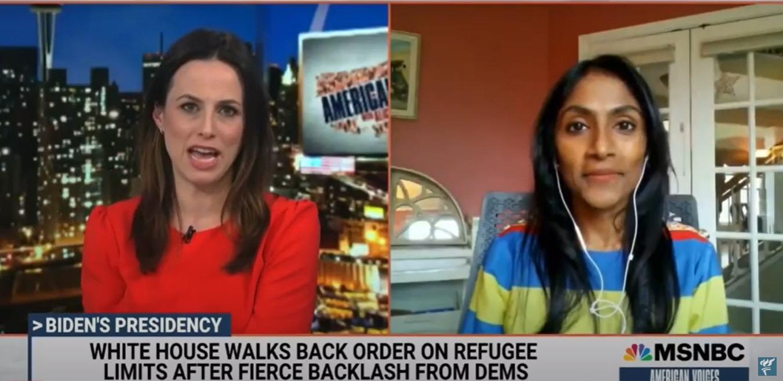 Refugee Admissions MSNBC